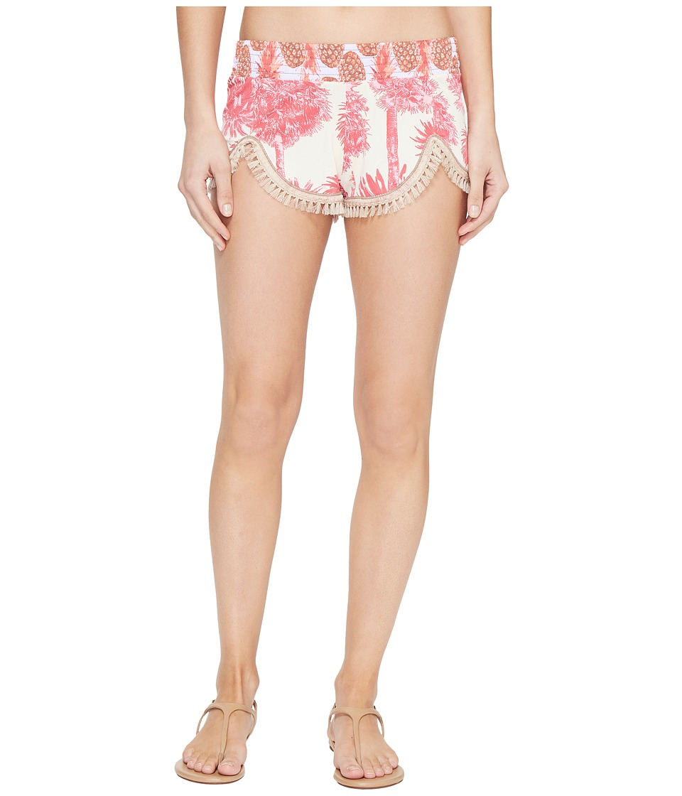 Maaji - Hollyhock Rose Shorts Cover-Up (Bright Pink) Women's Swimwear