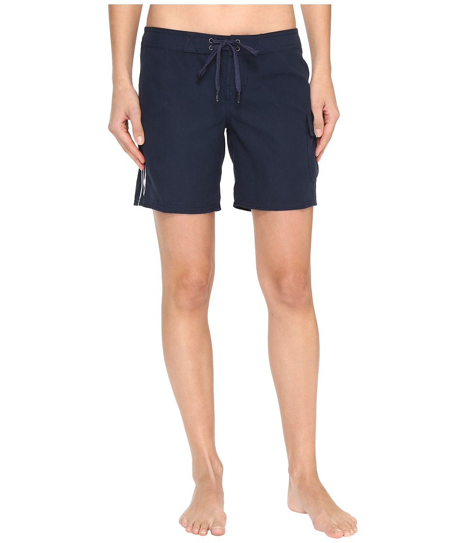 O'Neill - Atlantic 7 Boardshorts (Slate) Women's Swimwear