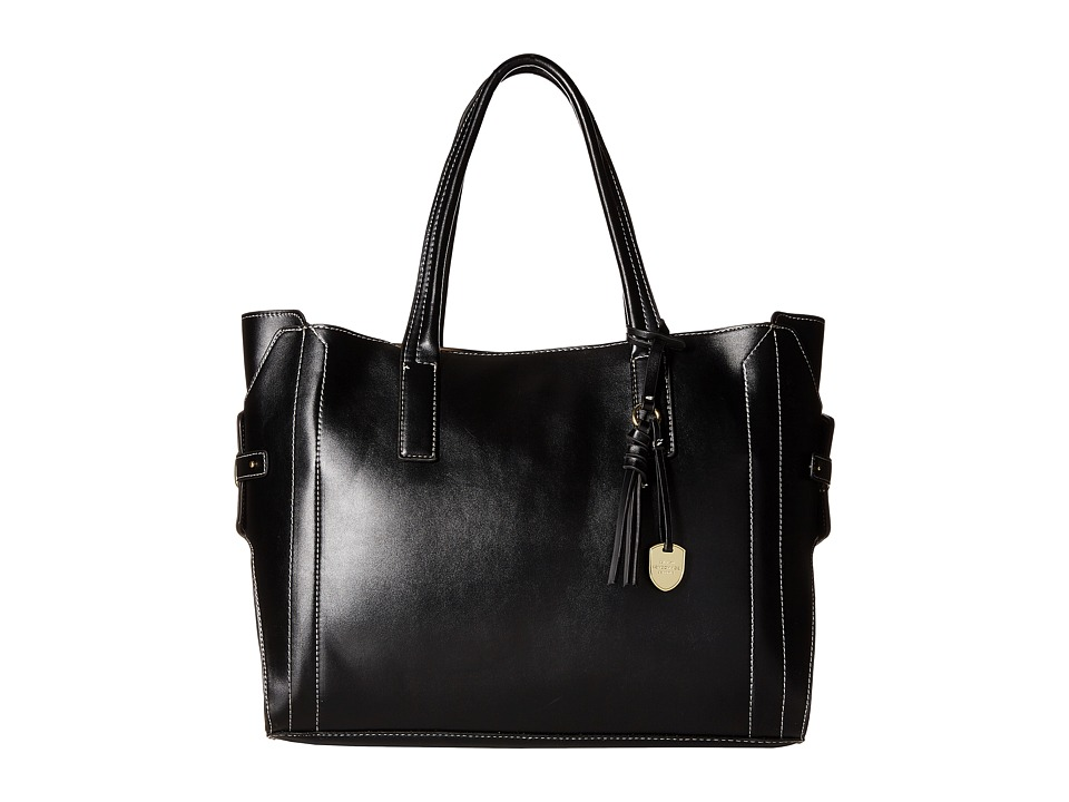 London Fog - Kingston Tote (Black) Tote Handbags
