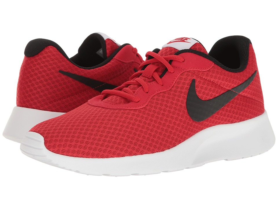 Nike - Tanjun (Black/Bright Crimson/White) Men's Running Shoes