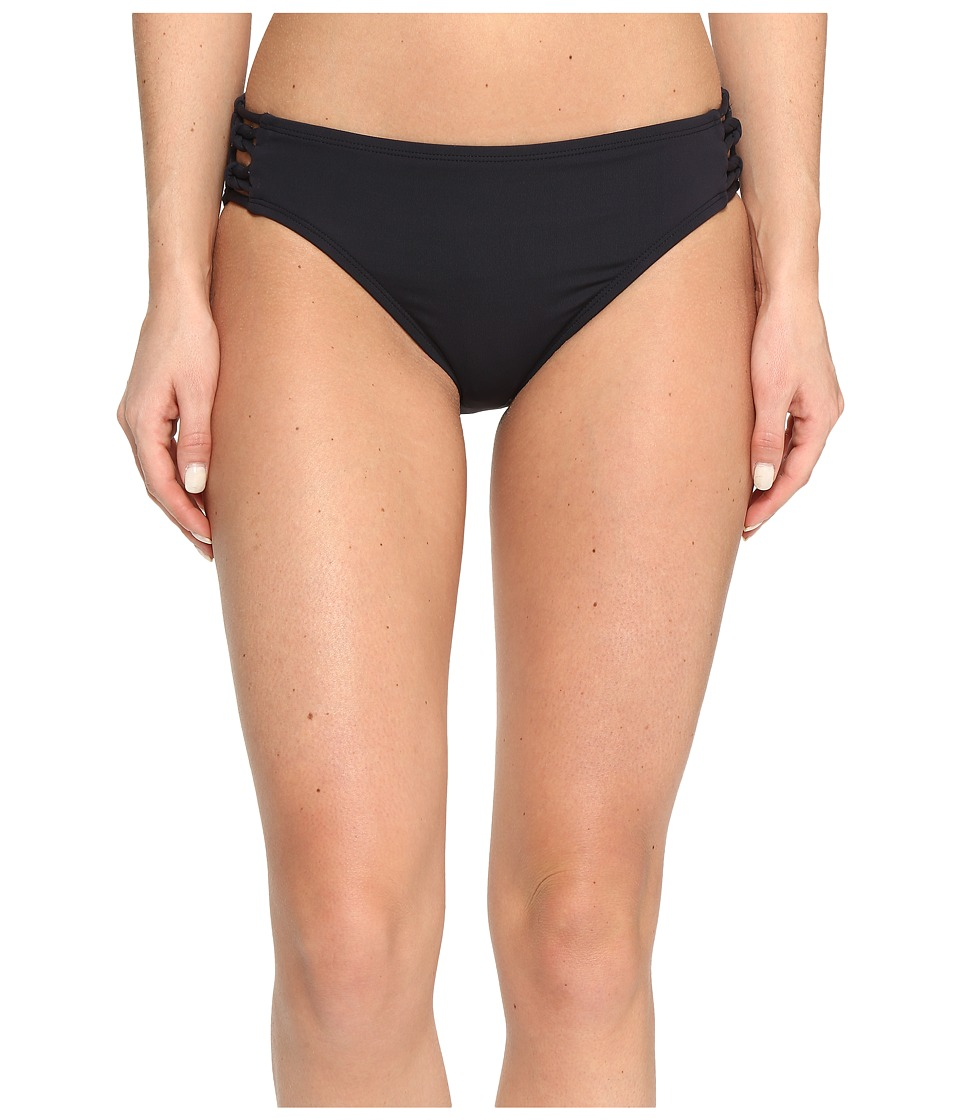 Bleu Rod Beattie - Knotty But Nice Lattice Midster Bottom (Black) Women's Swimwear