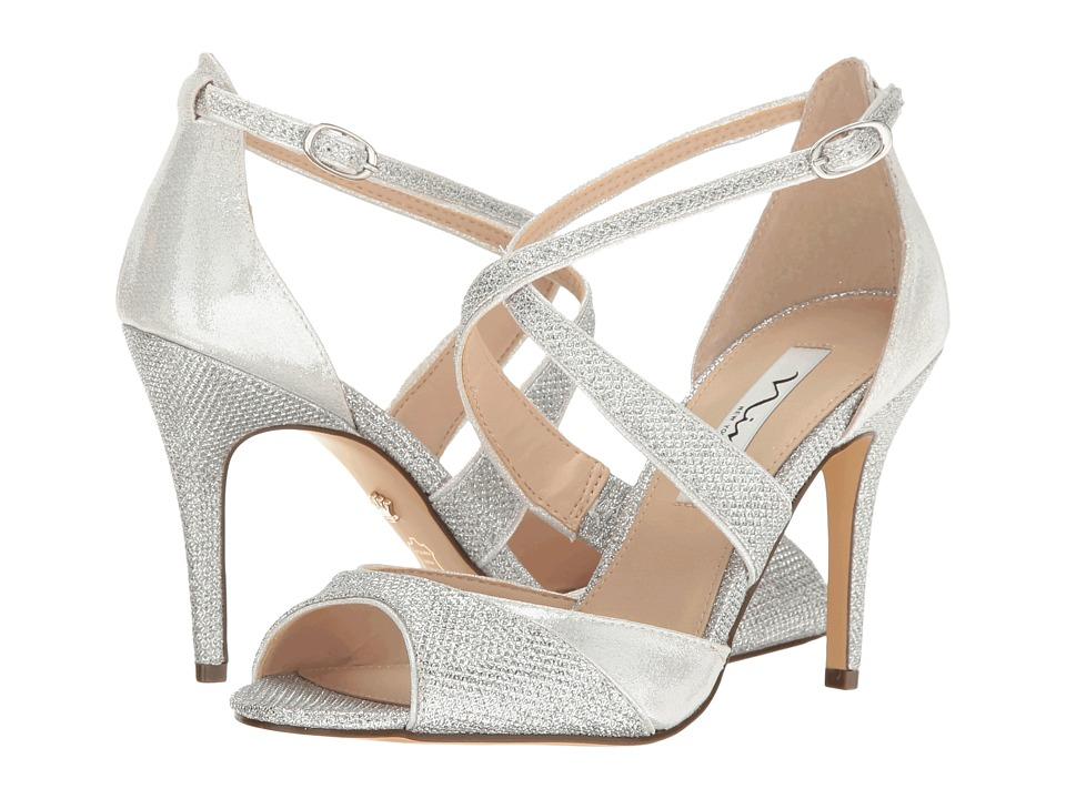 Nina Celosia (Silver) High Heels
