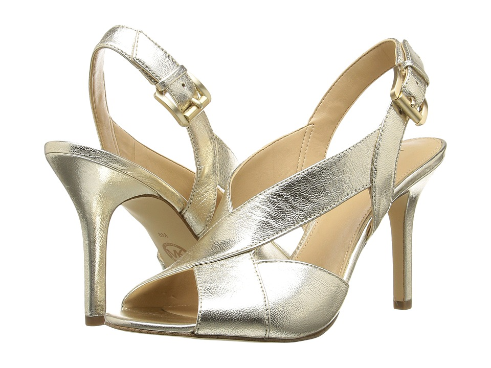 MICHAEL Michael Kors - Becky Sandal (Pale Gold) Women's Sandals