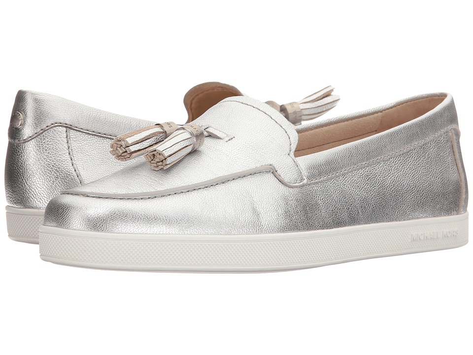 MICHAEL Michael Kors - Callahan Moc (Silver) Women's Shoes