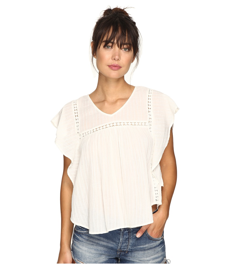 O'Neill - Lainey Woven Top (White) Women's Dress