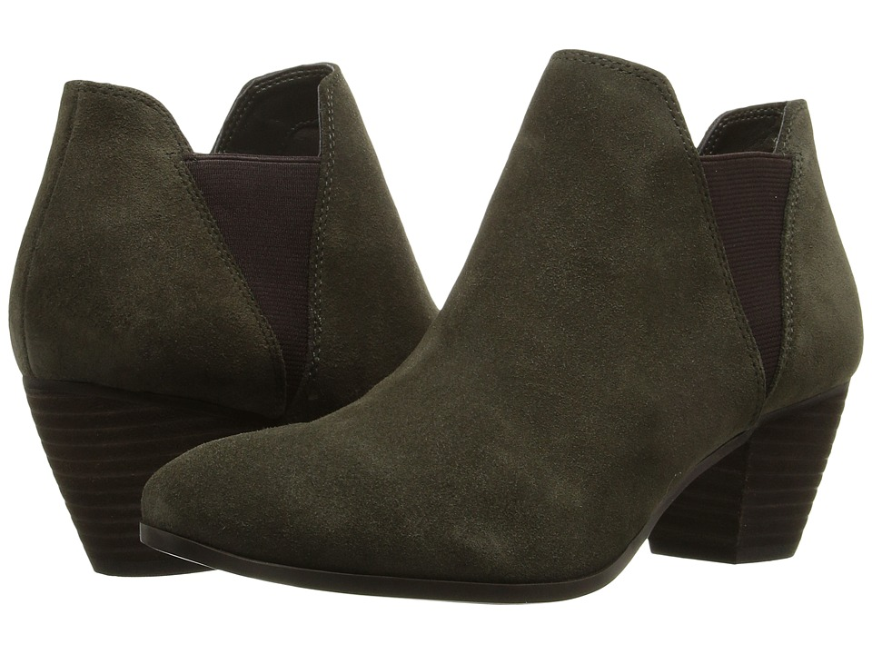 GUESS - Vivica (Olive Suede) Women's Shoes