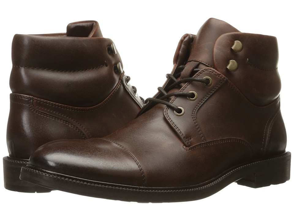 Kenneth Cole Reaction - Stop Drop N Roll (Brown) Men's Shoes