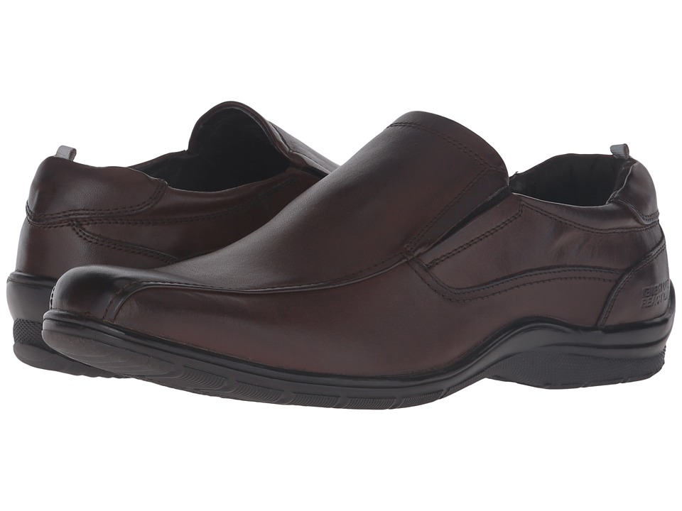 Kenneth Cole Reaction - National Team (Brown) Men's Slip on Shoes