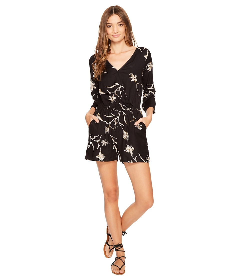 O'Neill - Indica Romper (Black) Women's Jumpsuit & Rompers One Piece
