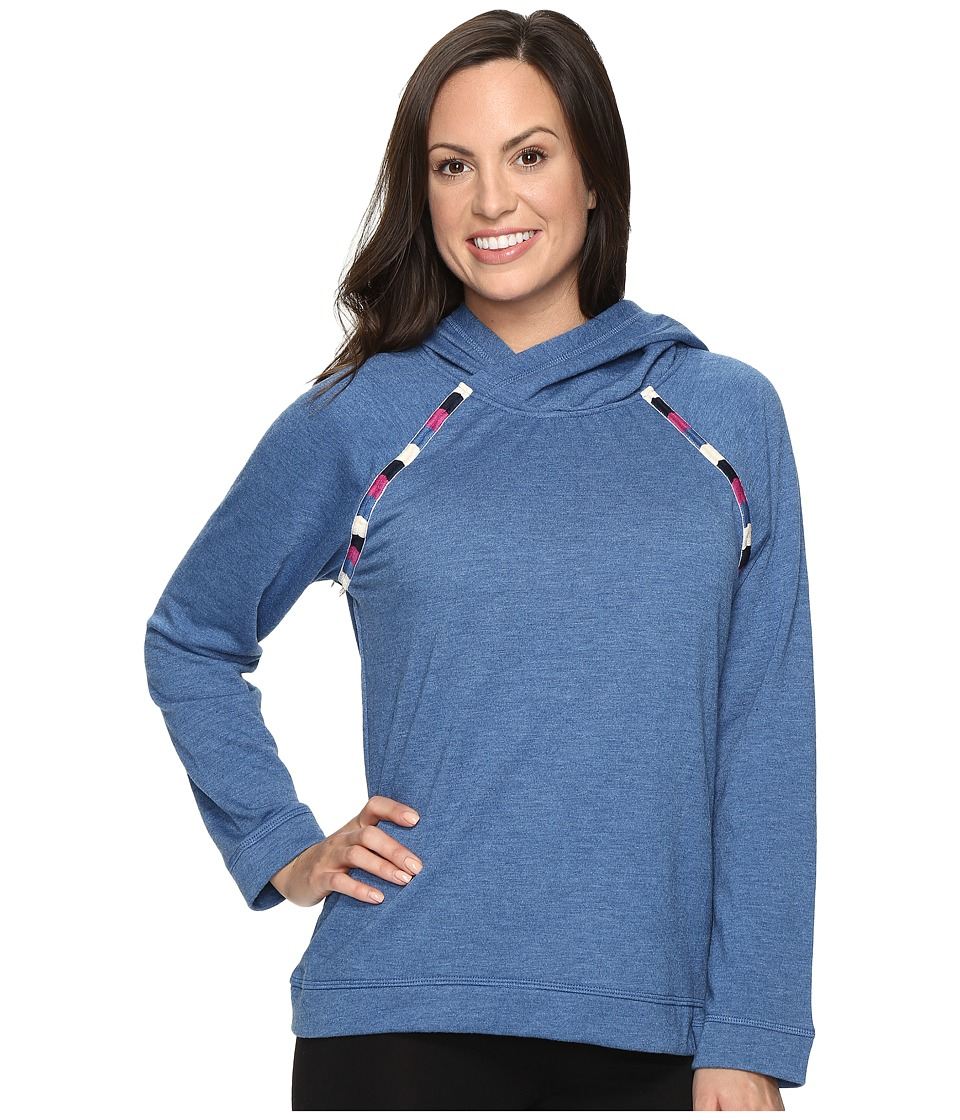 Lucky Brand - Luxe Chillin Out Hoodie (Denim Blue) Women's Pajama