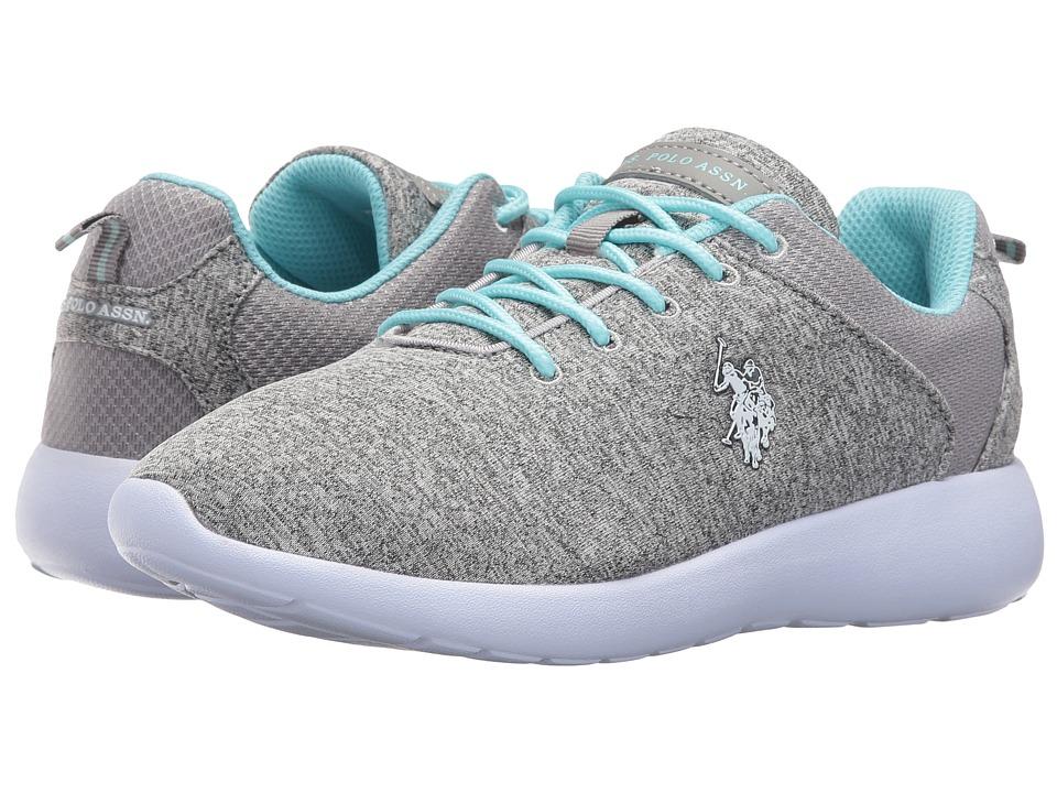 U.S. POLO ASSN. - Debi-HJ (Grey/Light Blue) Women's Shoes