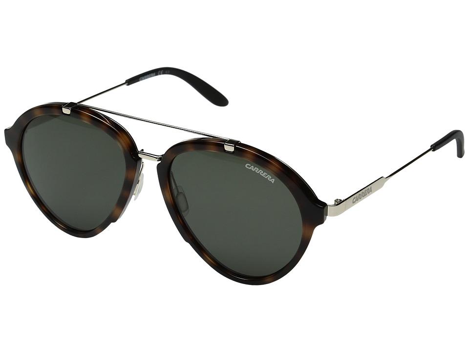 Carrera - Carrera 125/S (Havana Gold/Green) Fashion Sunglasses
