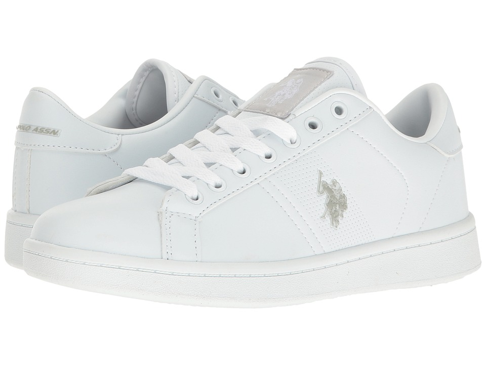 U.S. POLO ASSN. - Tyra (White) Women's Shoes