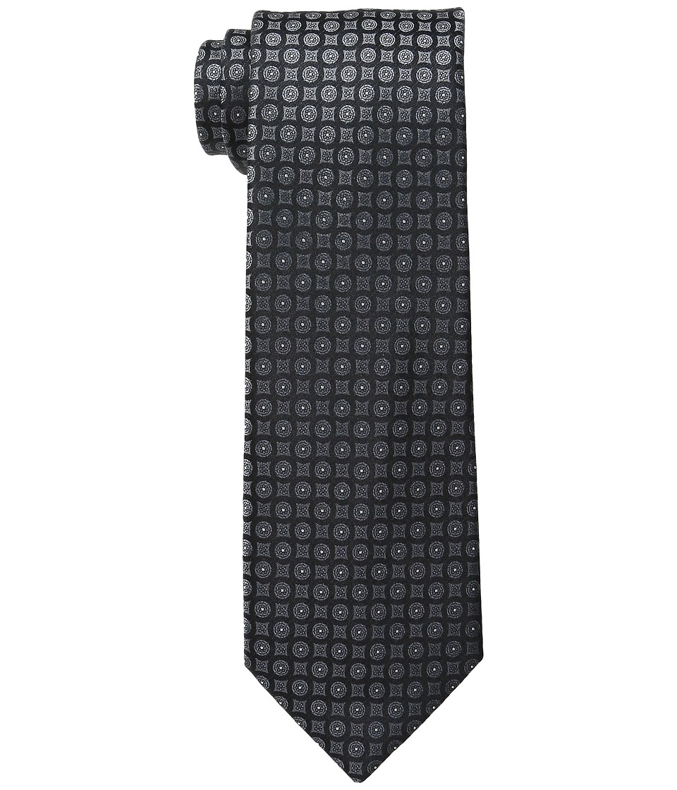 Calvin Klein - Modern Medallion (Black) Ties