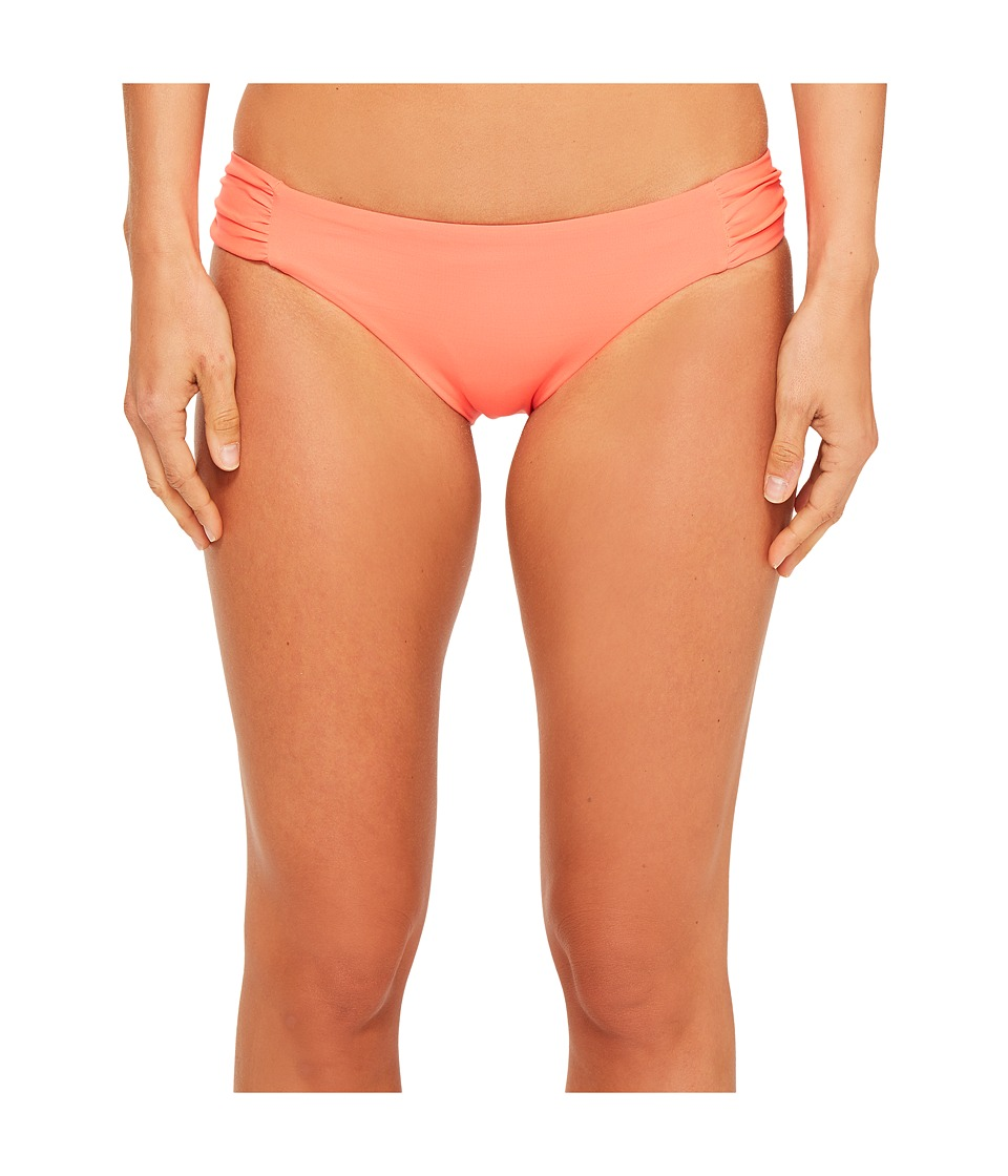 BECCA by Rebecca Virtue Color Code Tab Side Bottom Persimmon Swimwear