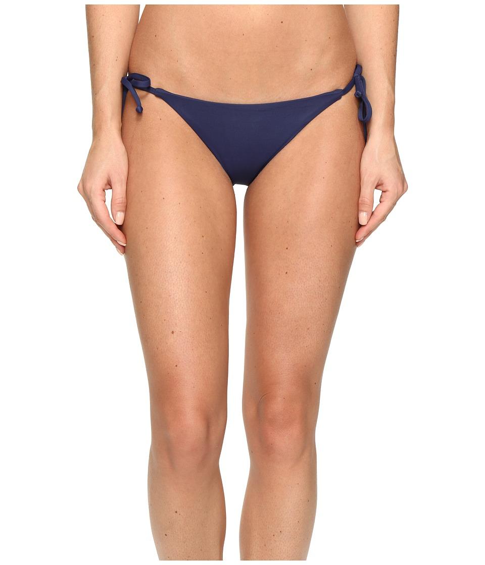 BECCA by Rebecca Virtue - Color Code Tie Side Bottom (Dark Denim) Women's Swimwear