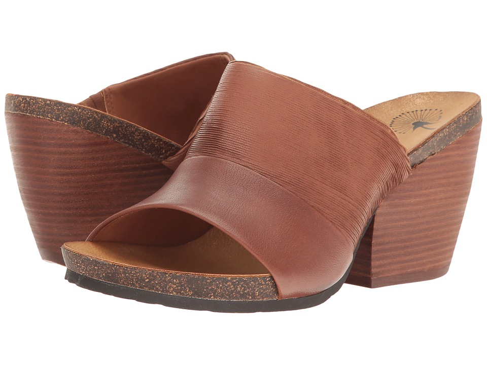 OTBT - Hostel (Oak) Women's Toe Open Shoes