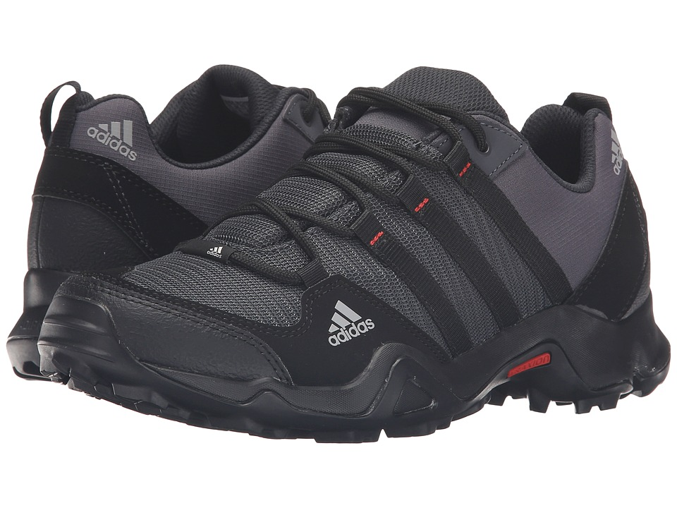 adidas Outdoor - AX 2 (Dark Grey/Core Black/Power Red) Men's Shoes