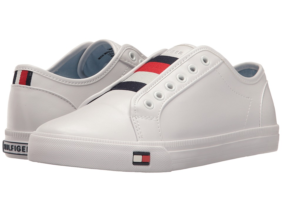 Tommy Hilfiger Anni White Multi Womens Lace up casual Shoes