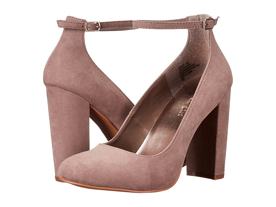 Madden Girl PRINNCE (Taupe Fabric) High Heels