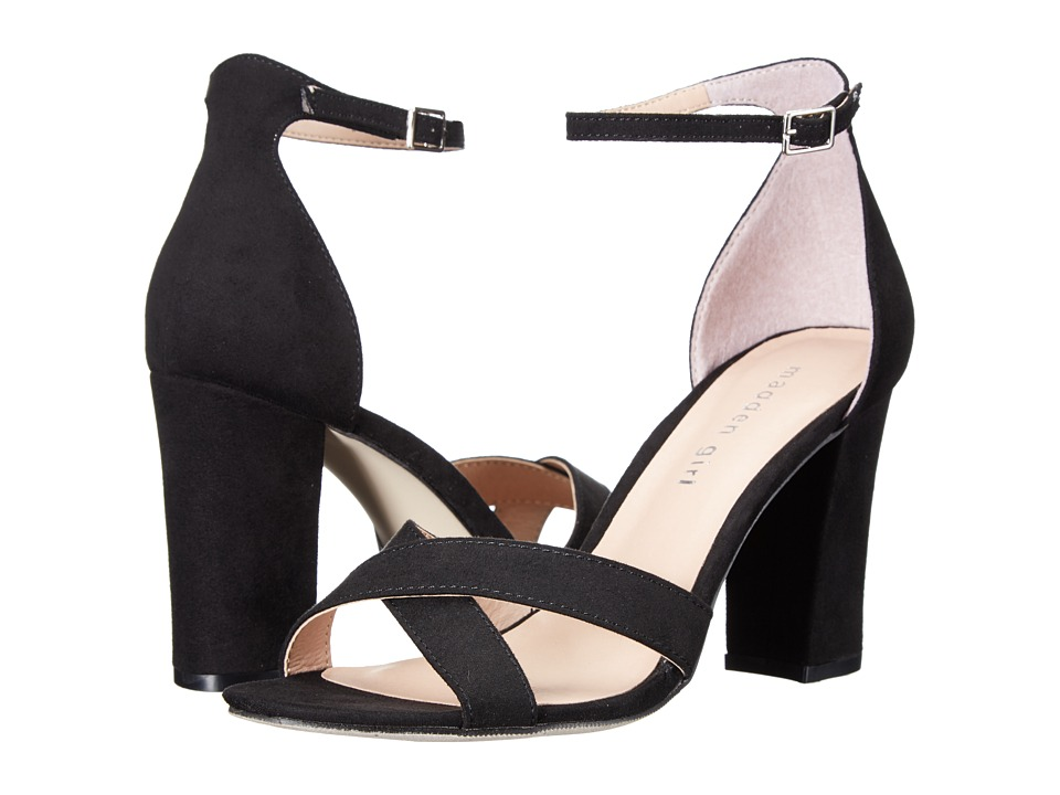 Madden Girl BRIIN (Black Fabric) High Heels