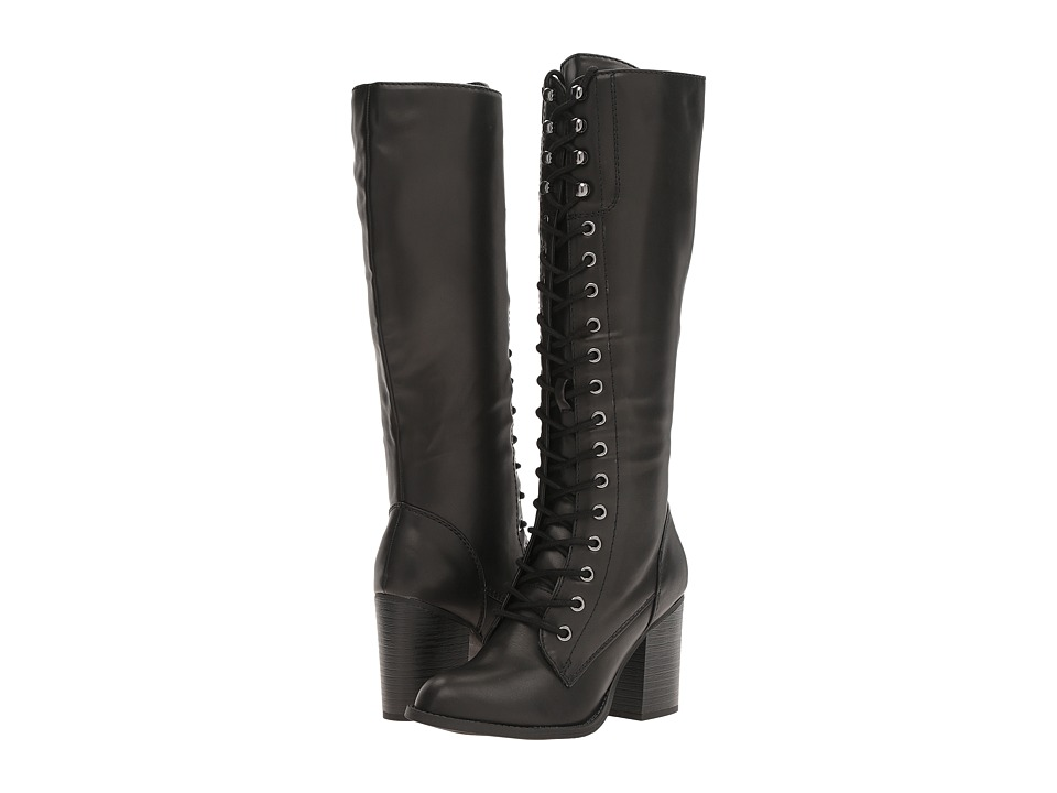 Madden Girl - LAURENN (Black Paris) Women's Lace-up Boots