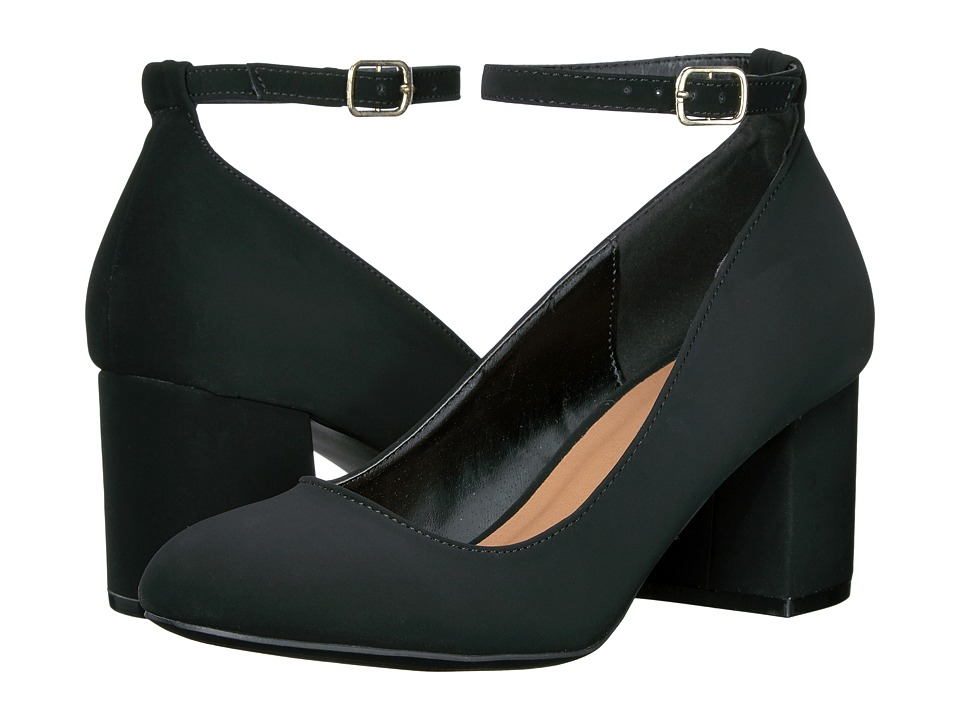 Madden Girl MOLYYY (Black Nubuck) High Heels