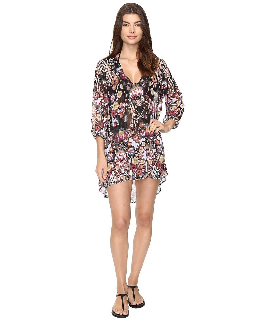 BECCA by Rebecca Virtue - Havana Tunic Dress Cover-Up (Multi) Women's Swimwear