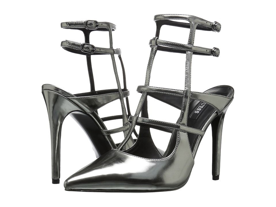 GUESS - Adrean (Pewter Patent) High Heels