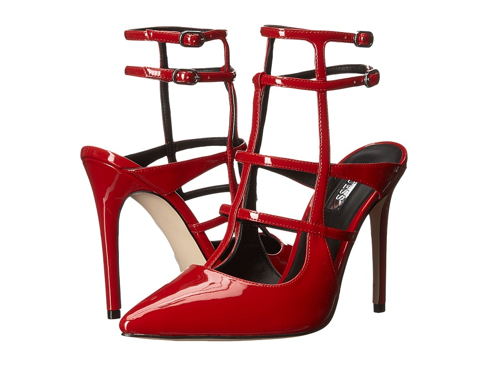 GUESS - Adrean (Red Patent) High Heels