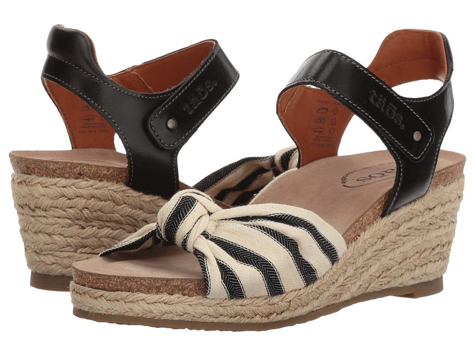 Taos Footwear - Very Jute (Black) Women's Shoes