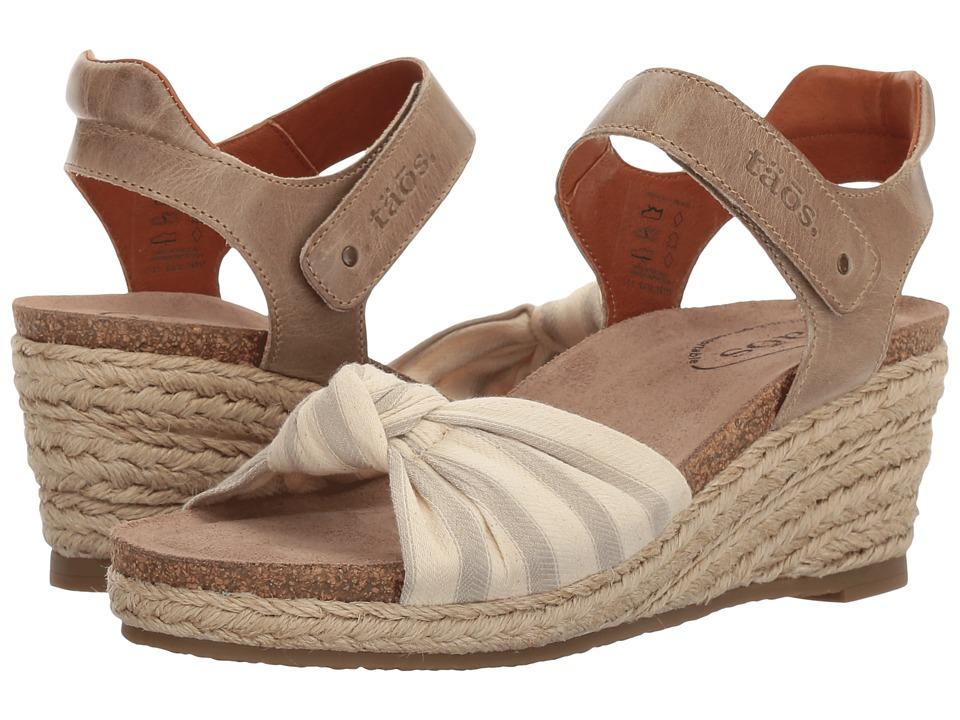 Taos Footwear Very Jute (Stone) Women