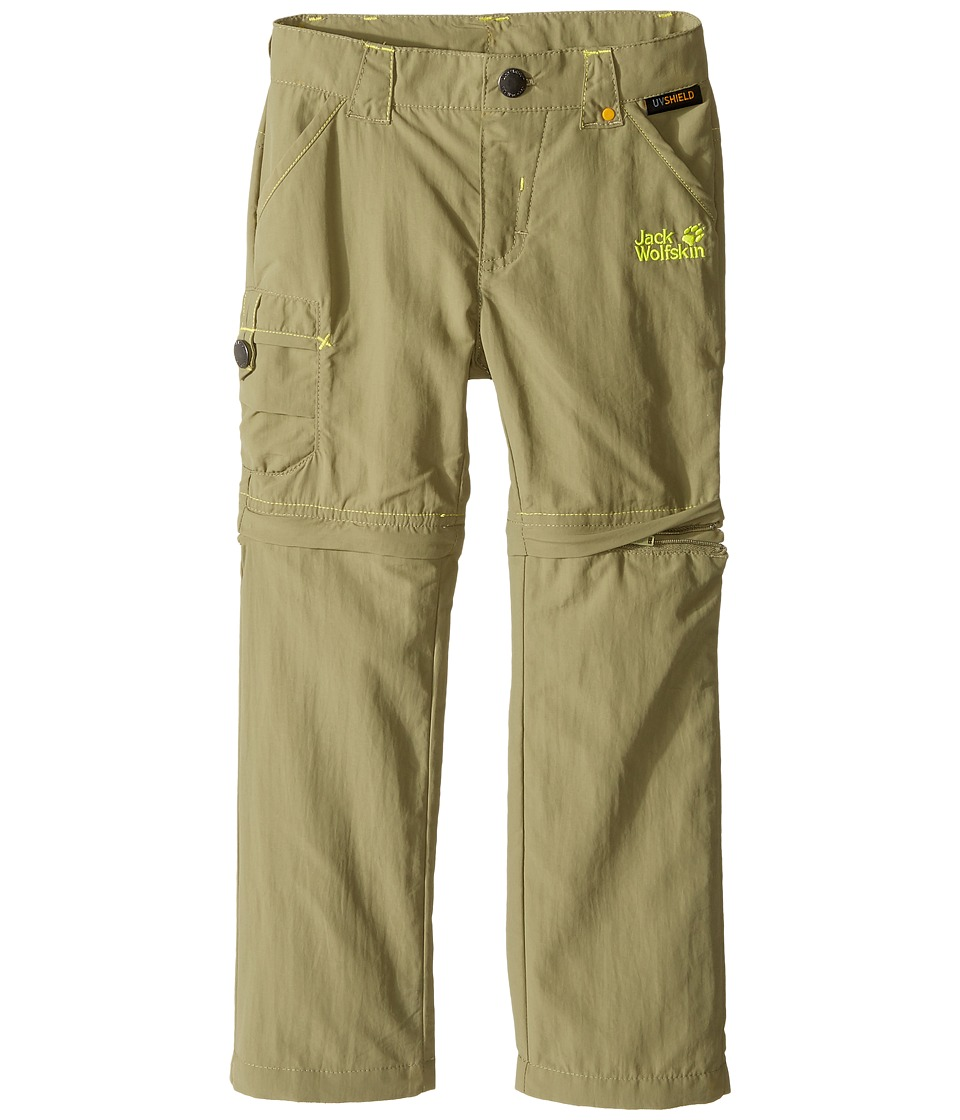 Jack Wolfskin Kids - Safari Zip Off Pants (Infant/Toddler) (Khaki) Kid's Casual Pants