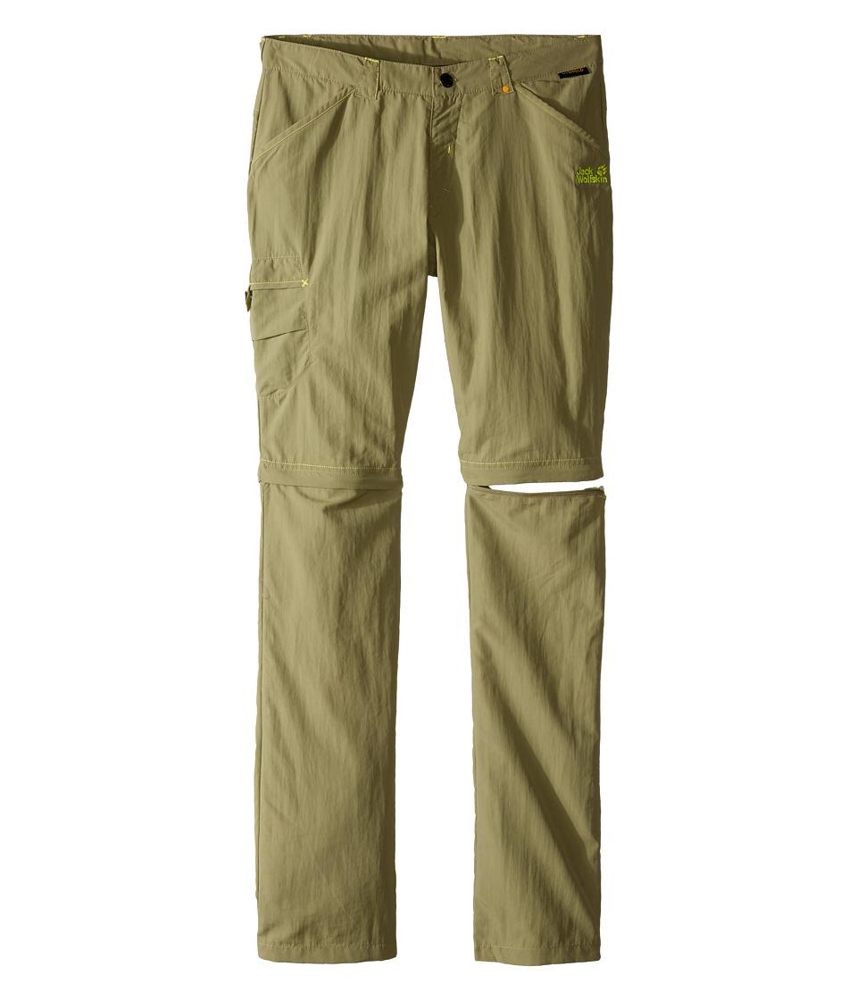 Jack Wolfskin Kids - Safari Zip Off Pants (Little Kid/Big Kid) (Khaki) Kid's Casual Pants