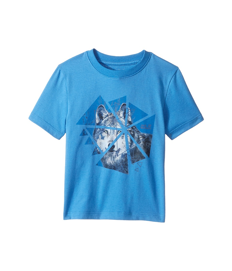Jack Wolfskin Kids - Wolf Tee (Infant/Toddler) (Wave Blue) Boy's T Shirt