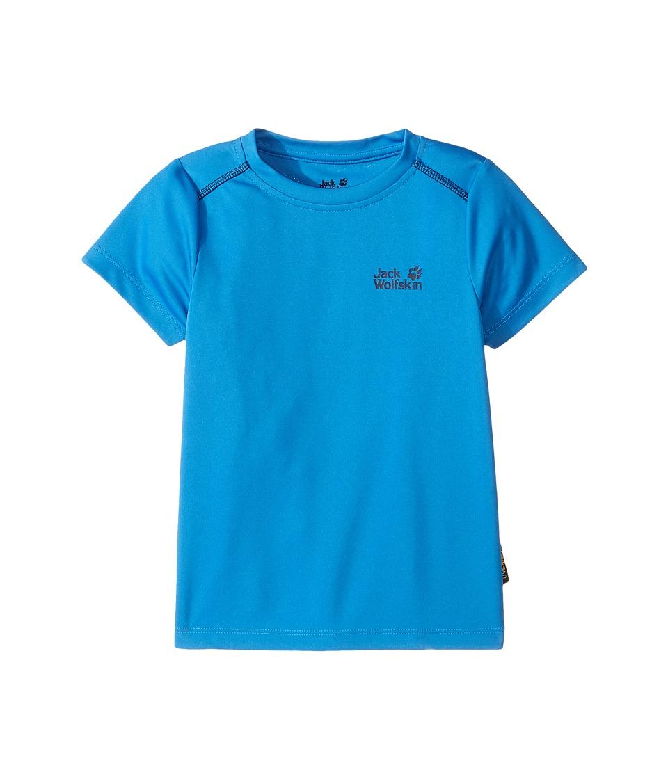 Jack Wolfskin Kids - Shoreline Tee (Infant/Toddler) (Wave Blue) Boy's T Shirt