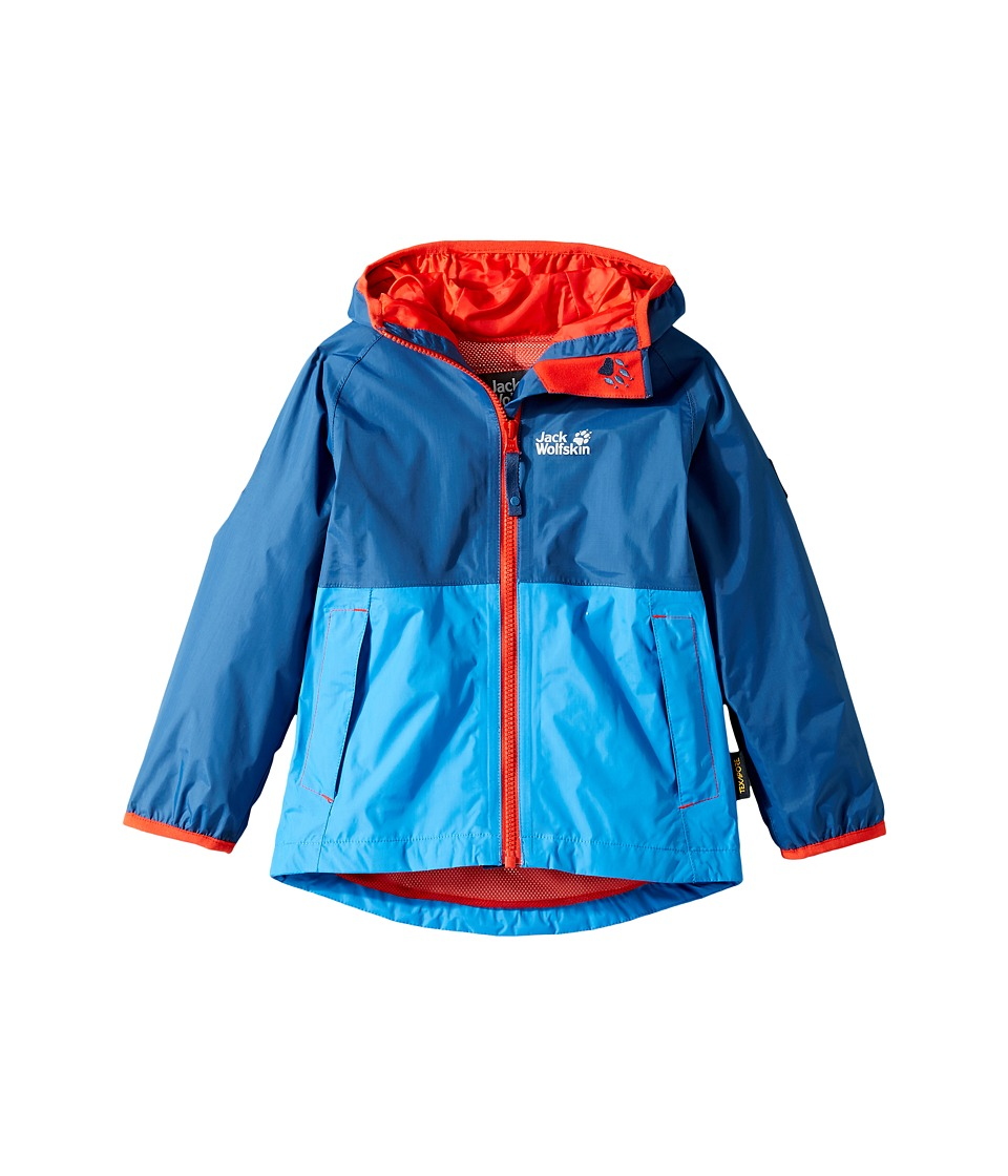 Jack Wolfskin Kids - Rainy Days Rain Jacket (Infant/Toddler) (Ocean Wave) Boy's Coat