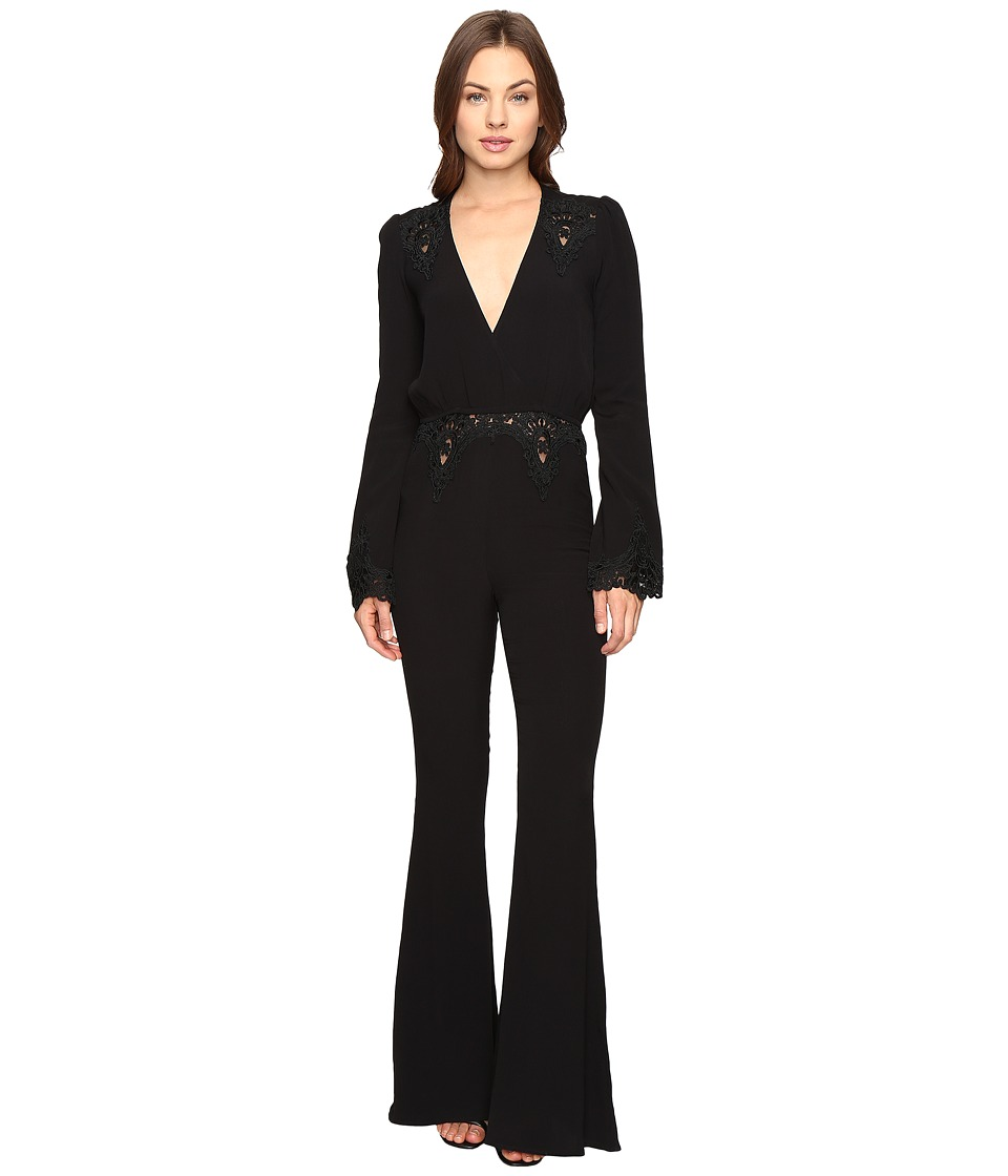 Stone Cold Fox - Bella Jumpsuit (Black) Women's Jumpsuit & Rompers One Piece