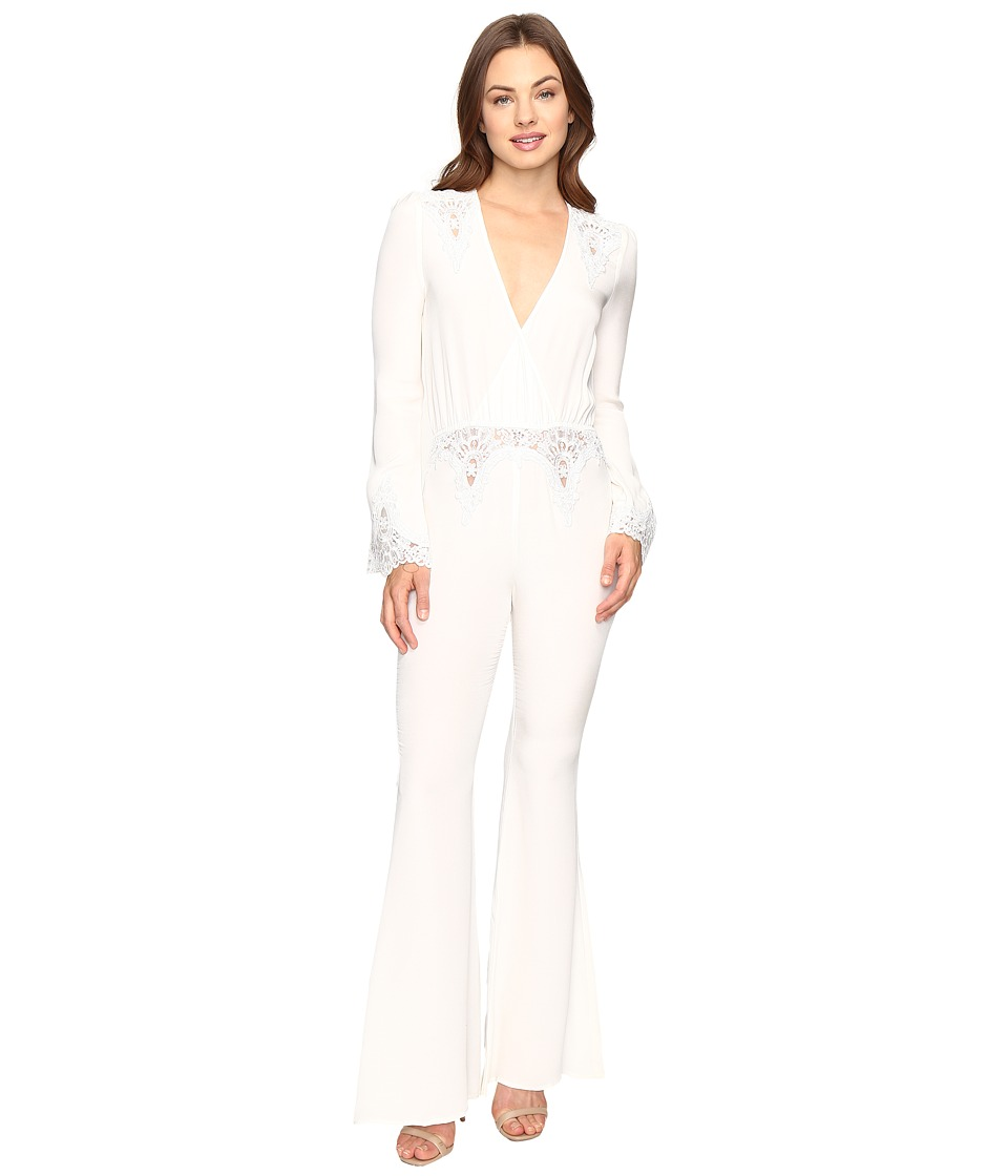 Stone Cold Fox - Bella Jumpsuit (White) Women's Jumpsuit & Rompers One Piece
