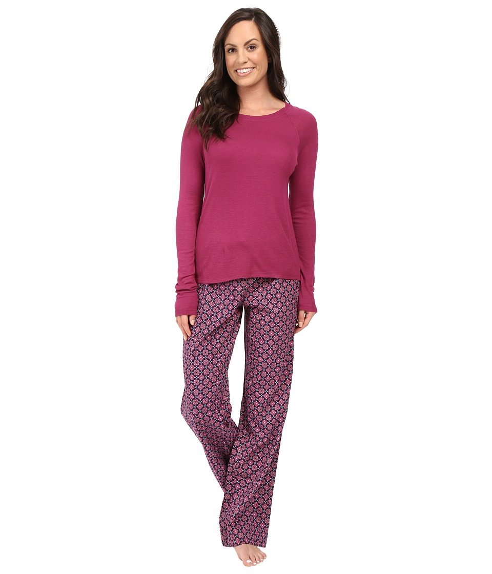 Splendid - Festive Flannel PJ Set (Foulard) Women's Pajama Sets
