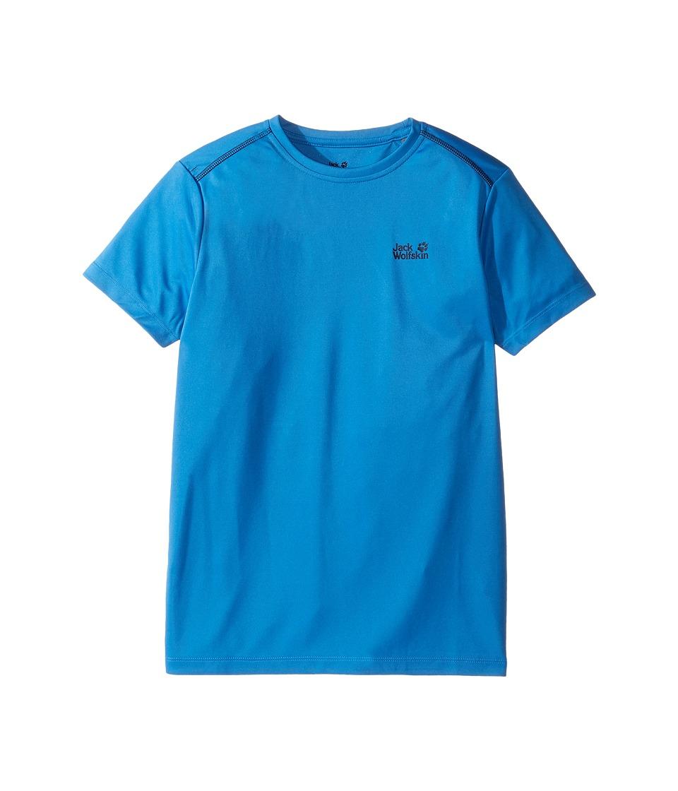 Jack Wolfskin Kids - Shoreline Tee (Little Kids/Big Kids) (Wave Blue) Boy's T Shirt