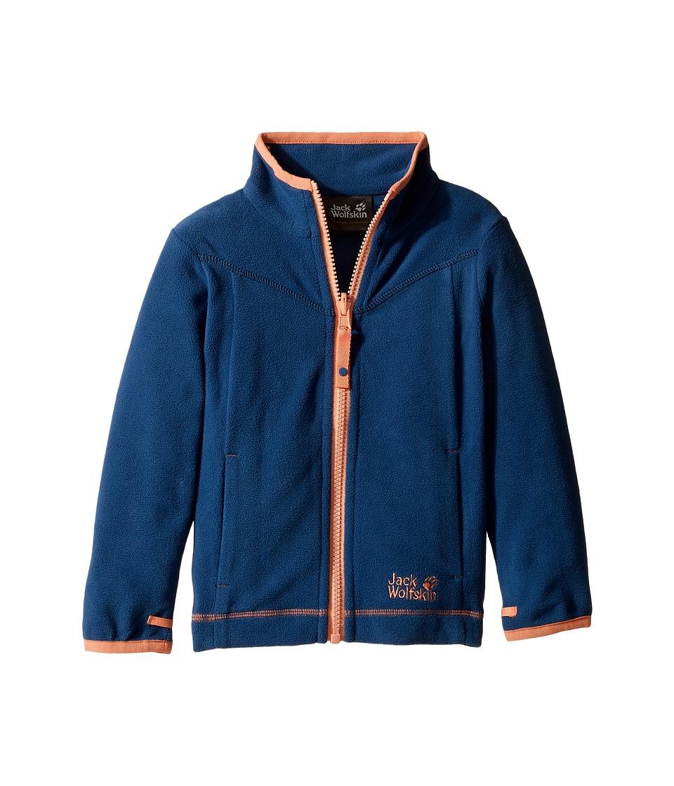 Jack Wolfskin Kids - Sandpiper Fleece Jacket (Infant/Toddler) (Ocean Wave) Girl's Coat