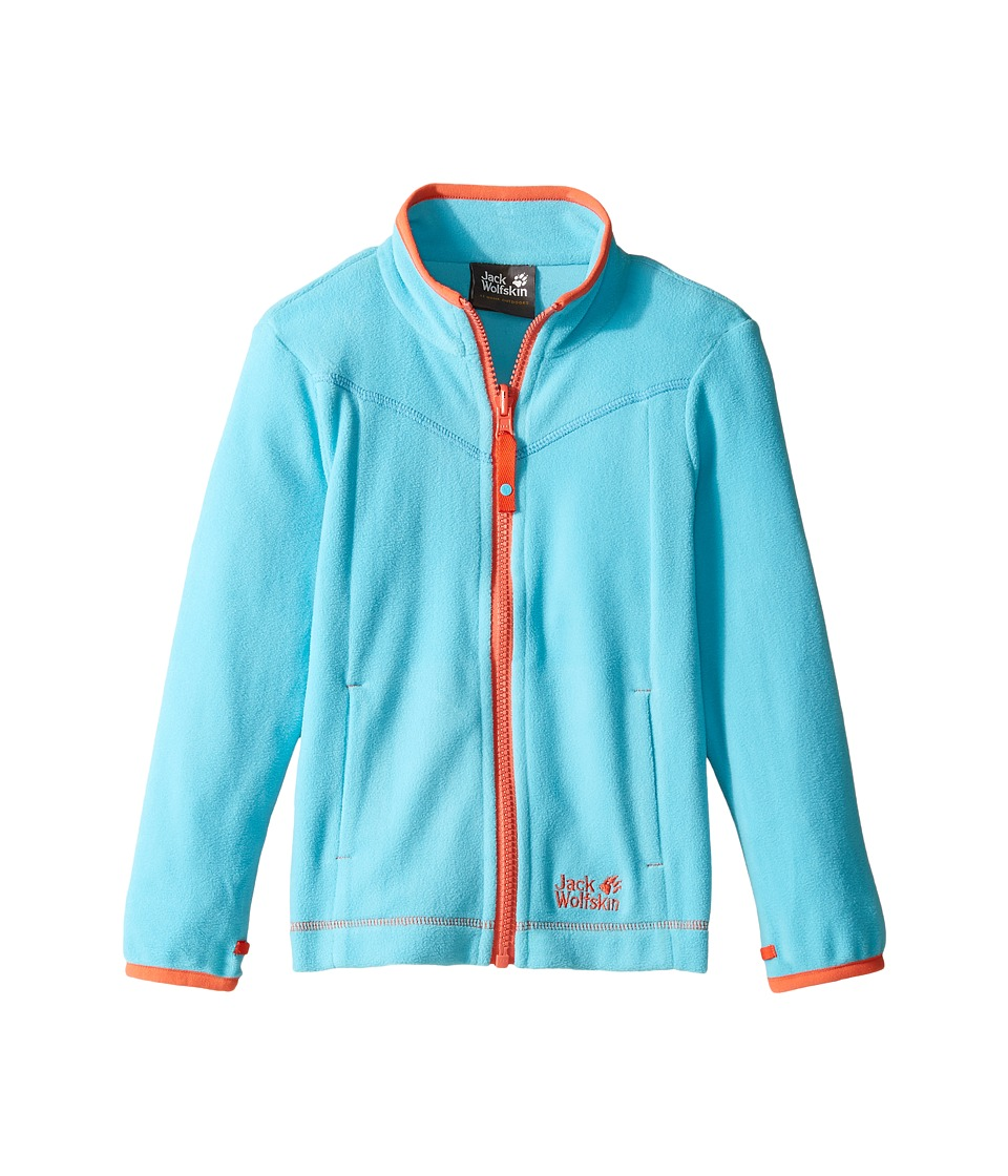 Jack Wolfskin Kids - Sandpiper Fleece Jacket (Infant/Toddler) (Lake Blue) Girl's Coat
