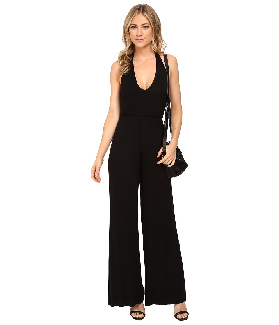 Clayton - Agnes Jumpsuit (Black) Women's Jumpsuit & Rompers One Piece