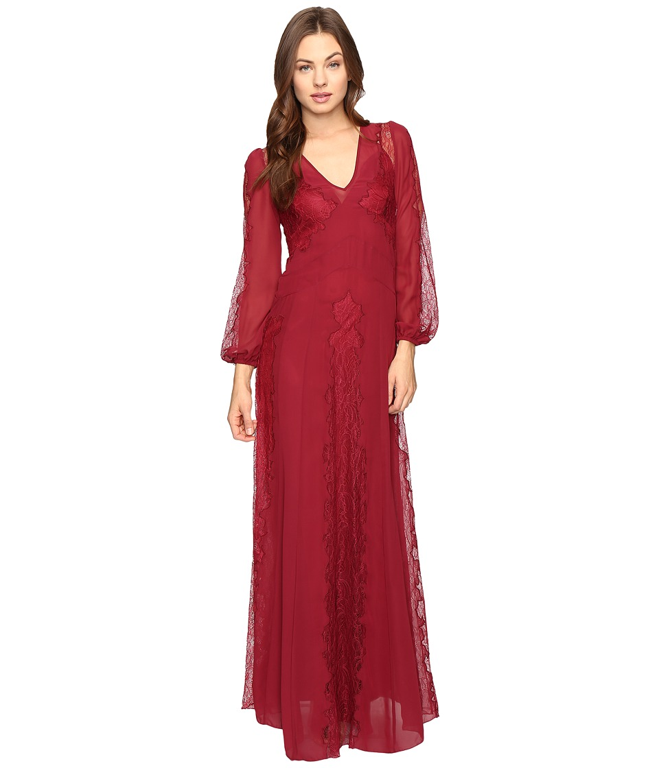 Stone Cold Fox - Vermont Gown (Red Lace) Women's Dress