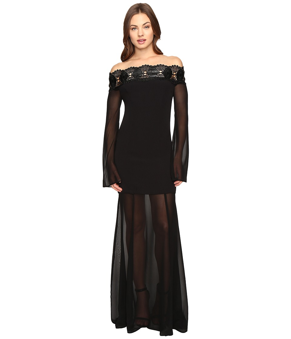 Stone Cold Fox Irina Gown (Black) Women