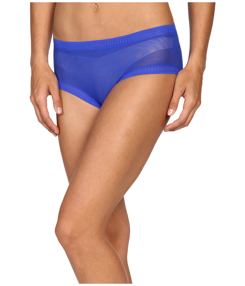 OnGossamer - Gossamer Mesh Boyshort (Azure) Women's Underwear