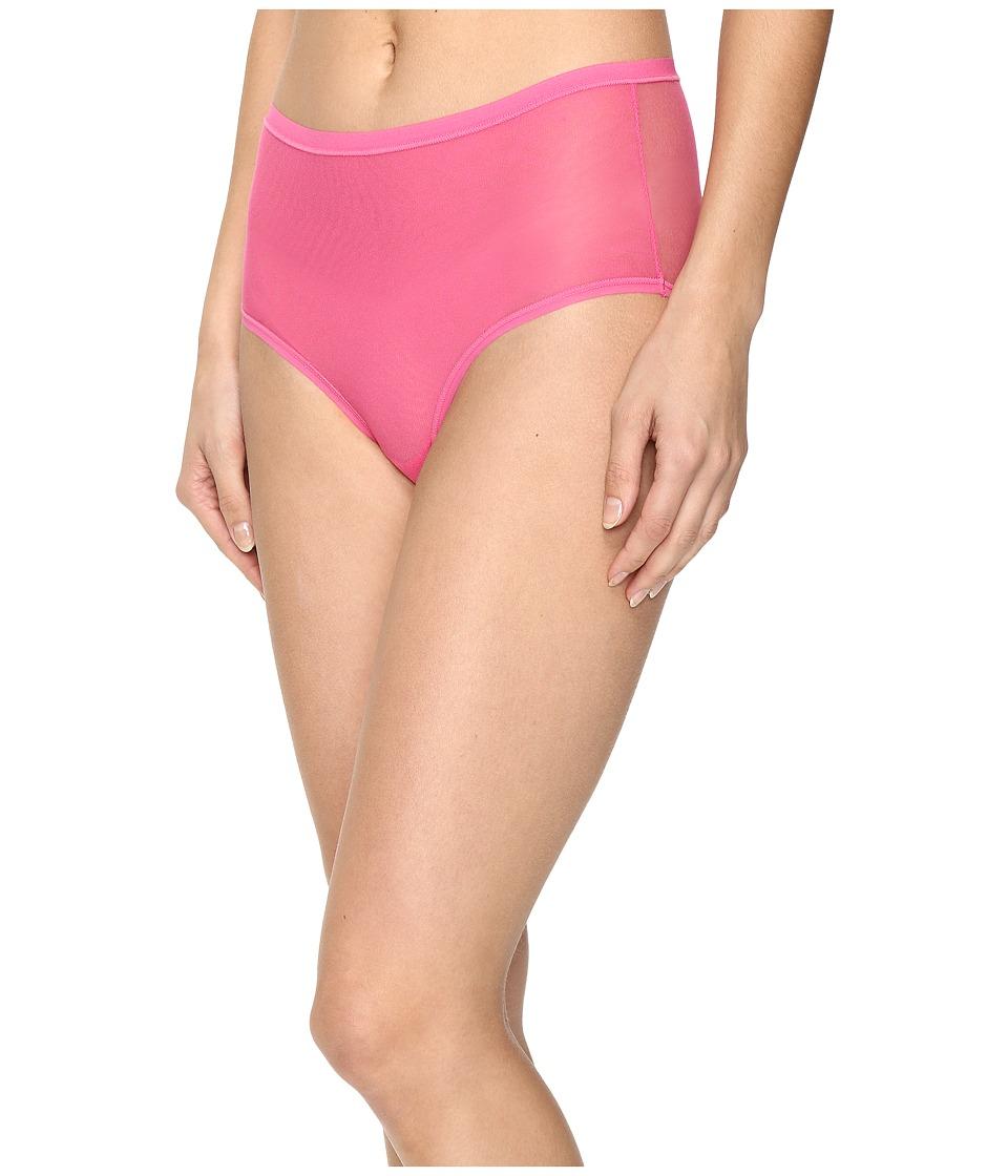 OnGossamer - Mesh Clean Edge Modern Brief 020850 (Pink Ice) Women's Underwear
