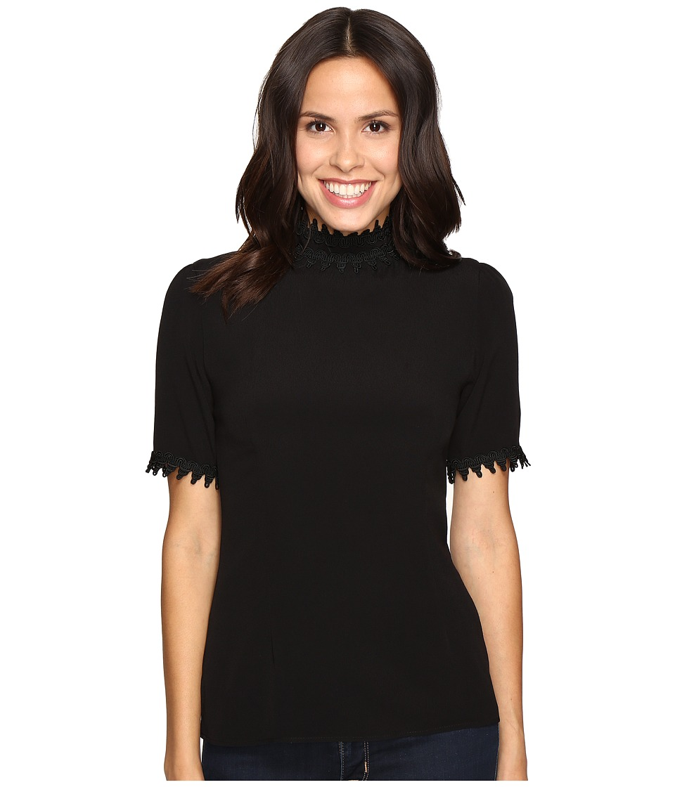 Stone Cold Fox - Adriana Top (Black) Women's Clothing