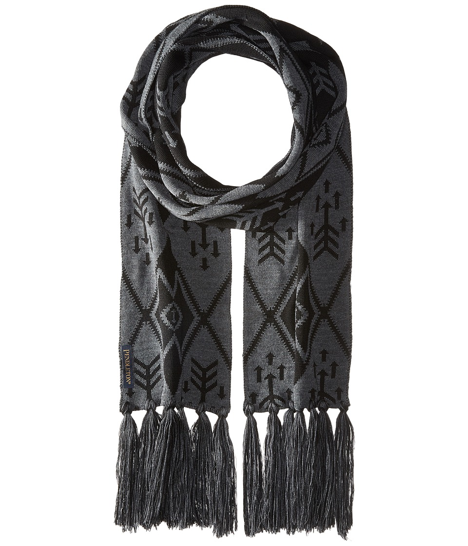 Pendleton - Long Fringe Scarf (Winter Nights) Scarves